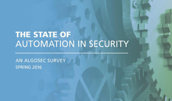 The State of Automation in Security 2016