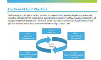 The Firewall Audit Checklist