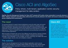 Cisco and algosec overview
