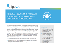 Integrate Security Into Devops for Faster, Safer Application Delivery Into Production