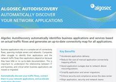 algosec auto discovery